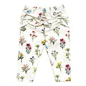 Hatley Ruffle Bottom Floral Print Leggings